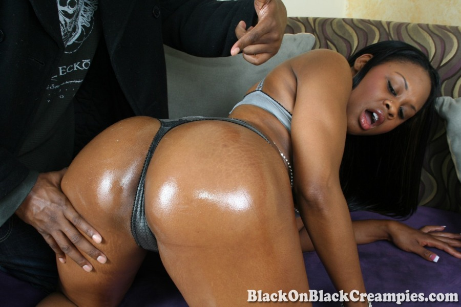 Big black ass and pussy porn