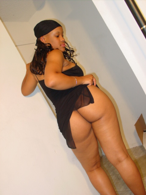 thick black woman