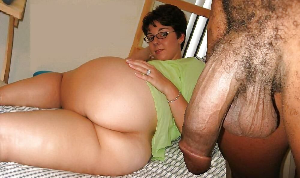 Big black cock is dominating a fat white woman, free porn